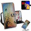 Colorful Painted Phone Case for Samsung Galaxy J4+/J4 PLUS - MULTI-E