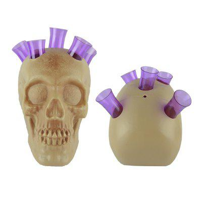 Halloween Skull Cup Stand