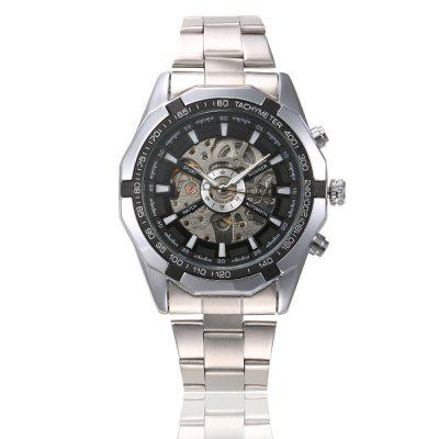 Vencedor Men Luxury Skeleton Clock Homem Classic Sport Watch