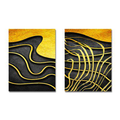 Fashion New Chinese Abstraction Print Art 2PCS