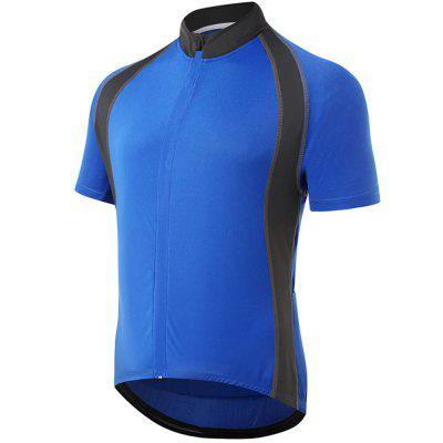 Men Moisture Absorption Sweat Thin Short Sleeve Cycling Clothing