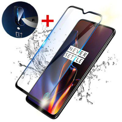 2 in 1 Protective Lens Camera Screen Protector for OnePlus 7 / OnePlus 6T