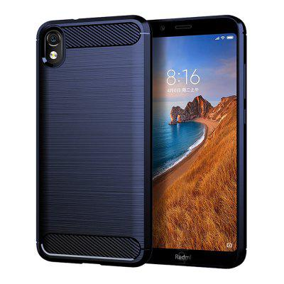 2019 Xiaomi Nice Mobile Phone Soft Silicone Protective Cover 7A Carbon Fiber