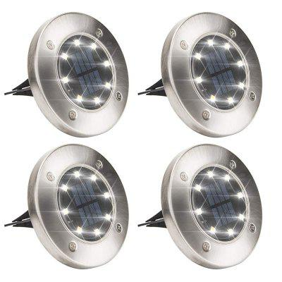 8LED Solar Lawn Lamp 4PCS