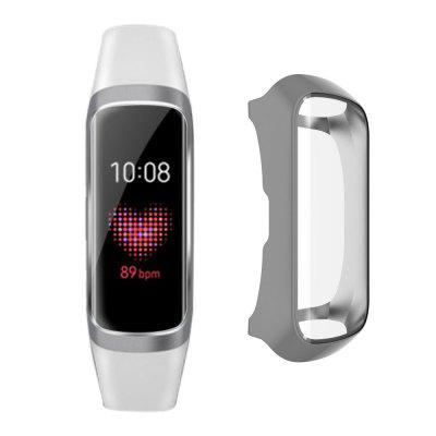 TPU Plating Frame Protector Watch Case Cover Full Shell For Samsung Galaxy Fit-E