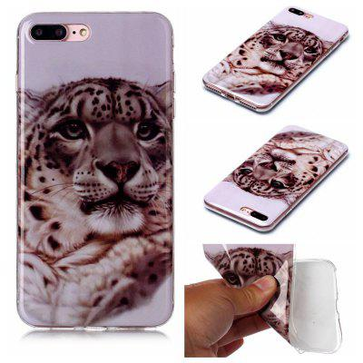Ultra-Thin Painted TPU Phone Case for iPhone 8 Plus / 7 Plus