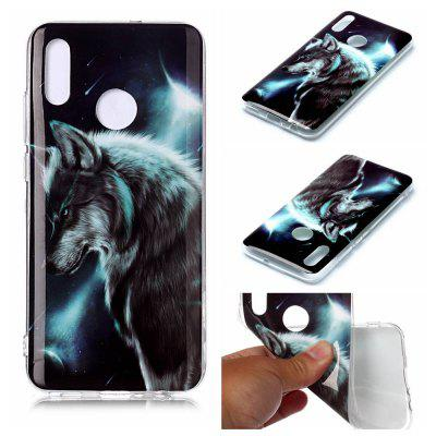 Painted TPU Phone Case for Huawei Honor 10 Lite / P Smart 2019