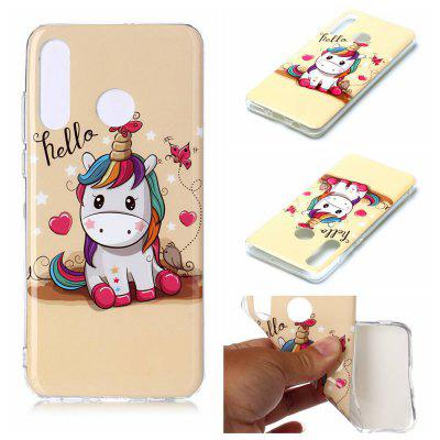 Painted TPU Phone Case for Huawei P30 Lite