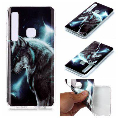 Painted TPU Phone Case for Samsung Galaxy A9 2018