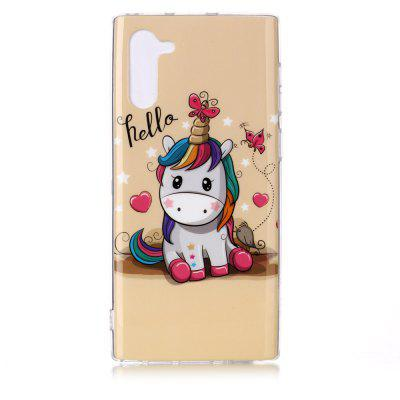 Painted TPU Phone Case for Samsung Galaxy Note 10