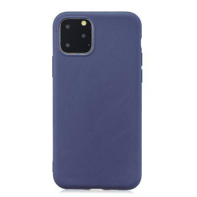 TPU Scrub Solid Color Phone Case for iPhone XI