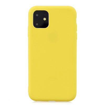 TPU Scrub Solid Color Phone Case for  iPhone 11