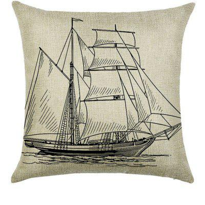 Lovely Comfortable Linen Pillowcase for Cushion  Bedroom Living Room Icon