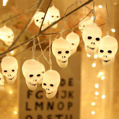 LED Decoratief Halloween Cute Skull Light String voor Festival