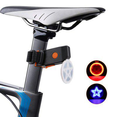 ZHISHUNJIA WY8535 USB Charging Taillight Warning Lamp LED Taillights for Bicycle
