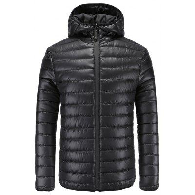 Men's Autumn and Winter Fashion Casual Slim Long-Sleeved Down Jacket