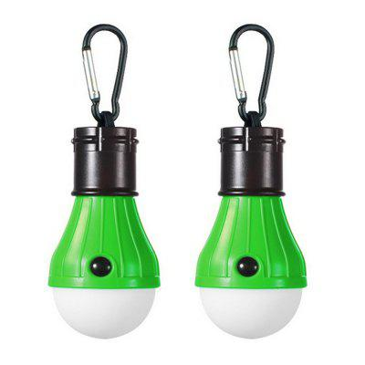 ZHISHUNJIA  Multifunctional Portable Camping Lamp Decorative Pendant Lamp 2PCS