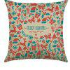 Comfortable Linen Pillowcase for Cushion Sofa  Living Room Christmas Spectacle - MULTI-A