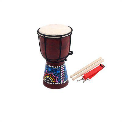 4 Inch Professional African Djembe Drum