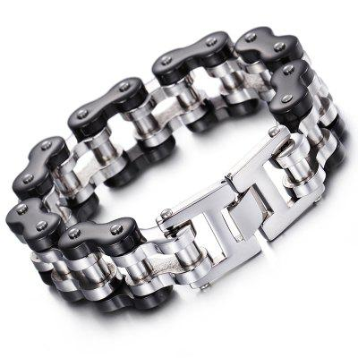 Personality Titanium Steel Men'S Bracelet Personalized Motorcycle Chain