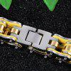 Stainless Steel Bracelet Bicycle Chain Jewelry Multicolor Men'S Bracelet - GOLD