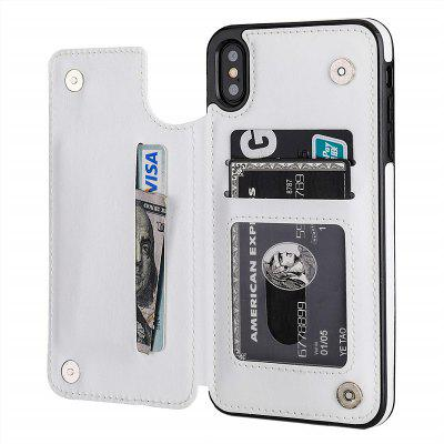 6.5 Inch Wallet Phone Case with Card Holder for iPhone Xs Max