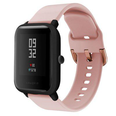 20MM Wearable Soft Silicone Watch Strap for Amazfit Bip / Amazfit Bip Lite