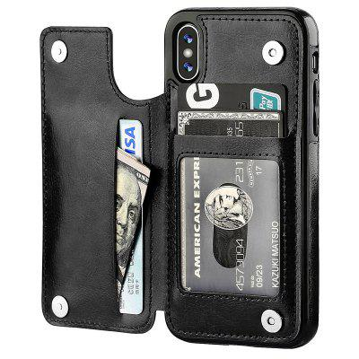 5.8 Inch Wallet Phone Case with Card Holder for IPhone Xs IPhone X