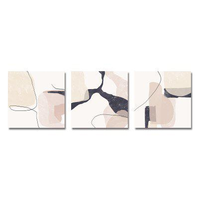 Nordic Fashion Abstrction Print Art 3PCS