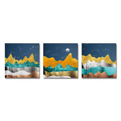 New Chinese Abstract Landscape Print Art 3PCS