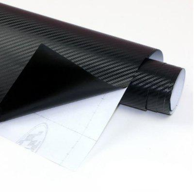 30x127CM Auto Sticker 3D Carbon Sticker Auto Wrap Vinyl 1 PC