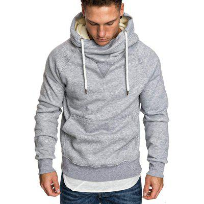 Men's Autumn and Winter Fashion Casual Hooded Long-Sleeved Sweater