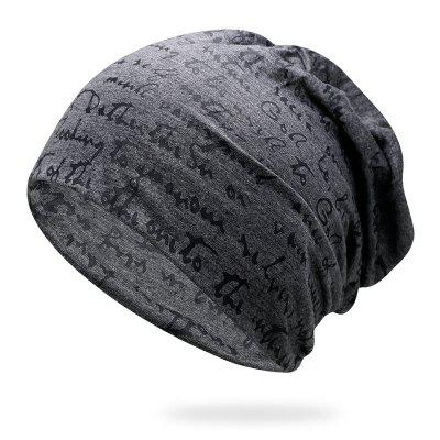 Carta Cap Graffiti Cap Respirável Turbante + Elastic Fit para 56-59CM
