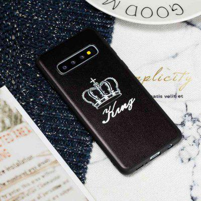 TPU Painted Pattern Phone Case for  Samsung Galaxy S10