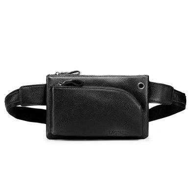 LAOSHIZI Luosen Men'S Leather Casual Purse Mobile Phone Purse Men'S Bag