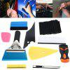 Car Window Tint Wrapping Vinyl Tools Squeegee Scraper Applicator Kits - MULTI
