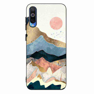 TPU Painted Multiple Pattern Phone Case for Samsung Galaxy A50