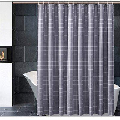 Square Lattice Bathroom Curtain Thickening Bathroom Partition Curtain
