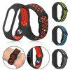 Silicone Replacement Wrist Strap Wristband for Xiaomi Mi Band 4 Smart Bracelet - GREEN