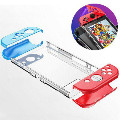 Magnetic Clear Transparent Hard PC Protective Case Cover for NINTENDO SWITCH NS