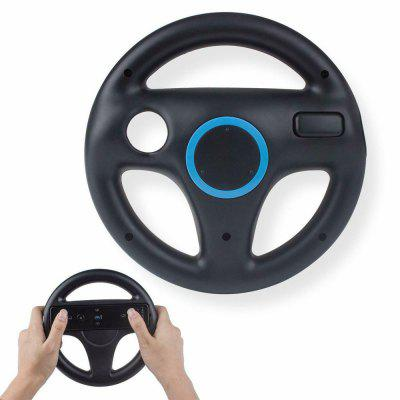 Black White Game Machine Steering Wheel Wii U Racing Game