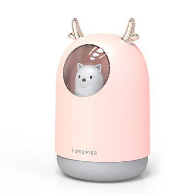 300ML schattige mini USB Portable Luchtbevochtiger Ultrasone Aroma Diffuser LED Light