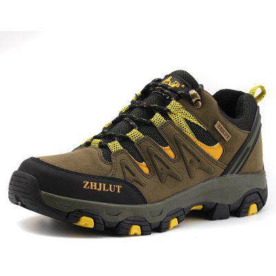 Men Shoes Large Size Outdoor Hiking Casual Slip Wear Sneakers