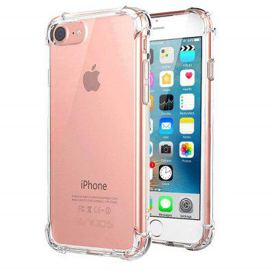 TPU  Shock Proof Transparent Crystal Clear Phone Case  For iPhone 7  iPhone 8