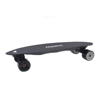Maxfind Electric Skateboard Max Range 17 Miles Top Speed 23 MPH Dual Motor