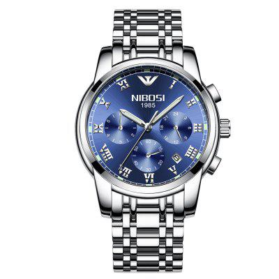 Pánské chronografy NIBOSI 2301 Luxury Watch Quartz Military Casual Watch