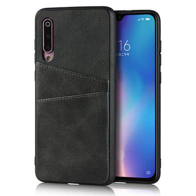 Leder Card Slot Phone Case für Xiaomi 9