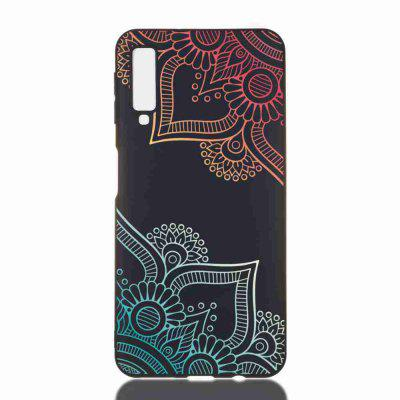 TPU Painted Multiple Pattern Phone Case for Samsung Galaxy A7 2018  / A750