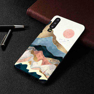 TPU Painted Multiple Pattern Phone Case for Huawei P30