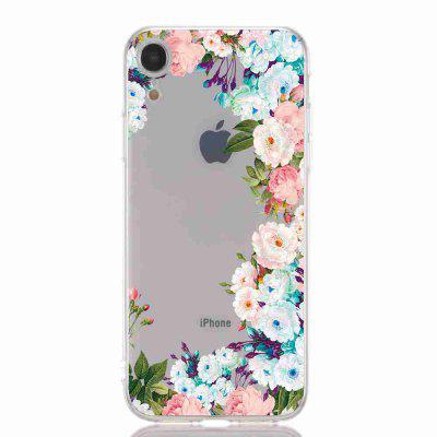 TPU Hollow Paint Phone Phone Case pour iPhone XR
